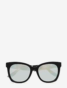 MQ0011S - cat-eye - black-white-silver