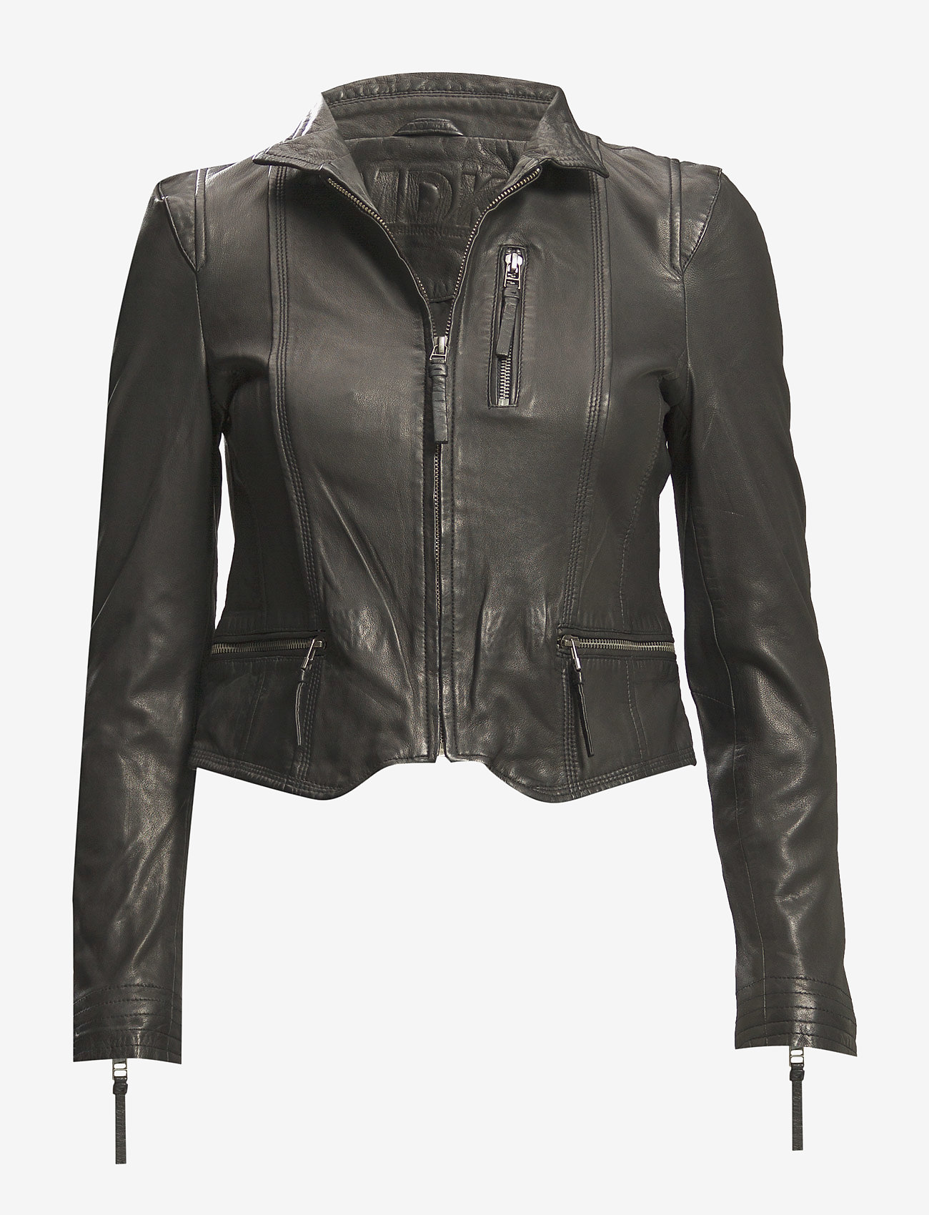 MDK / Munderingskompagniet - Rucy Leather Jacket - skinnjackor - black - 0