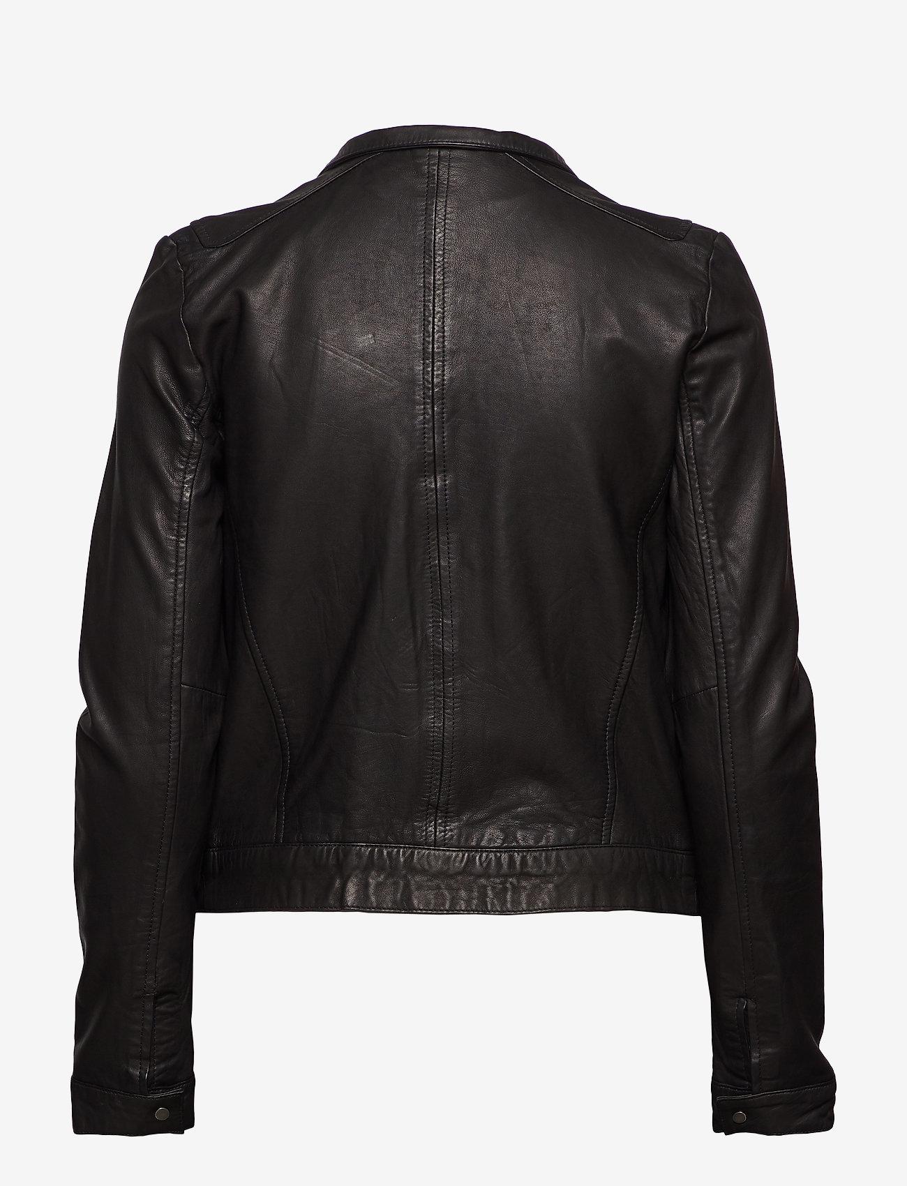 MDK / Munderingskompagniet - Karla Leather Jacket - nahkatakit - black - 0
