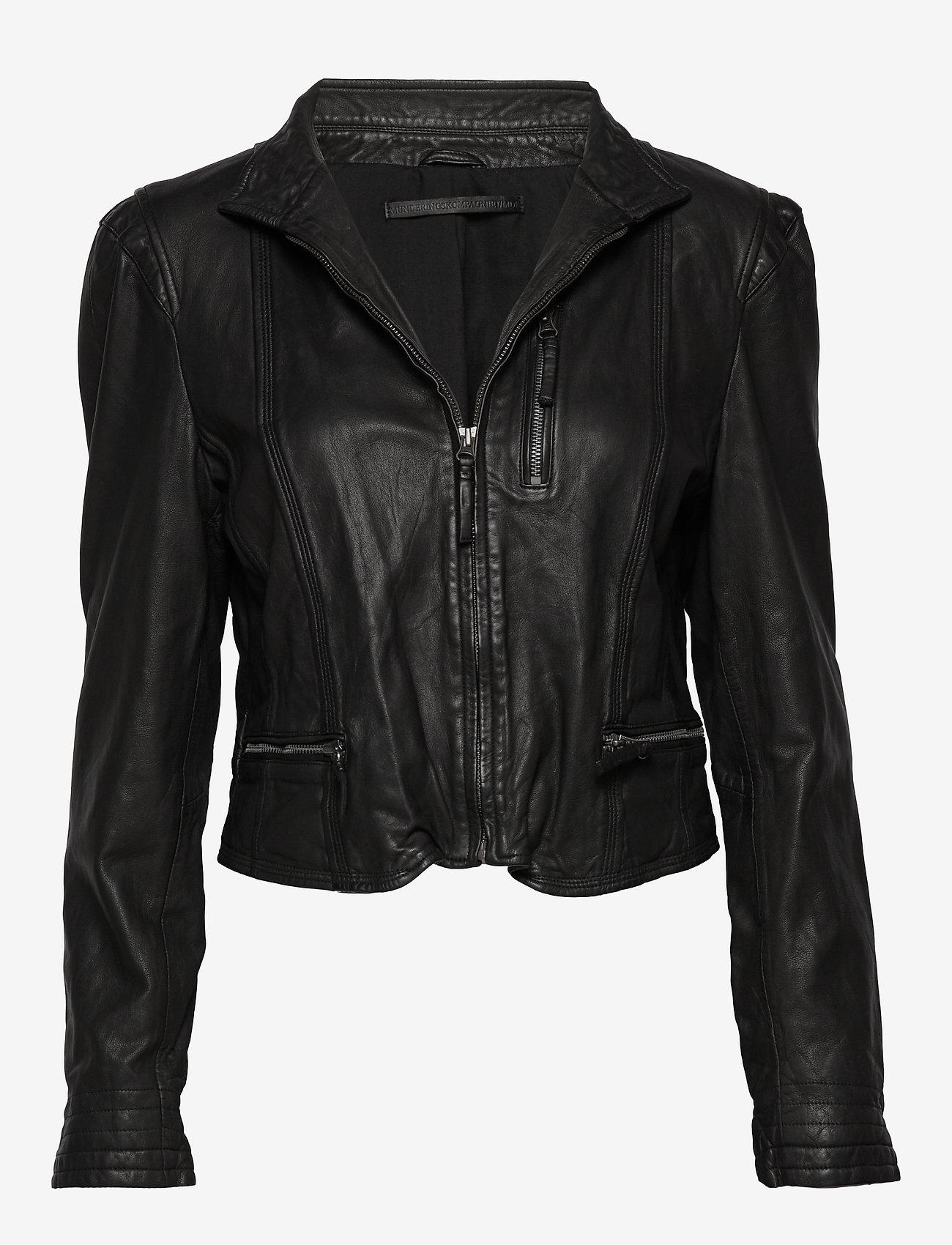 MDK / Munderingskompagniet - Rucy leather jacket (black) - nahkatakit - black - 0