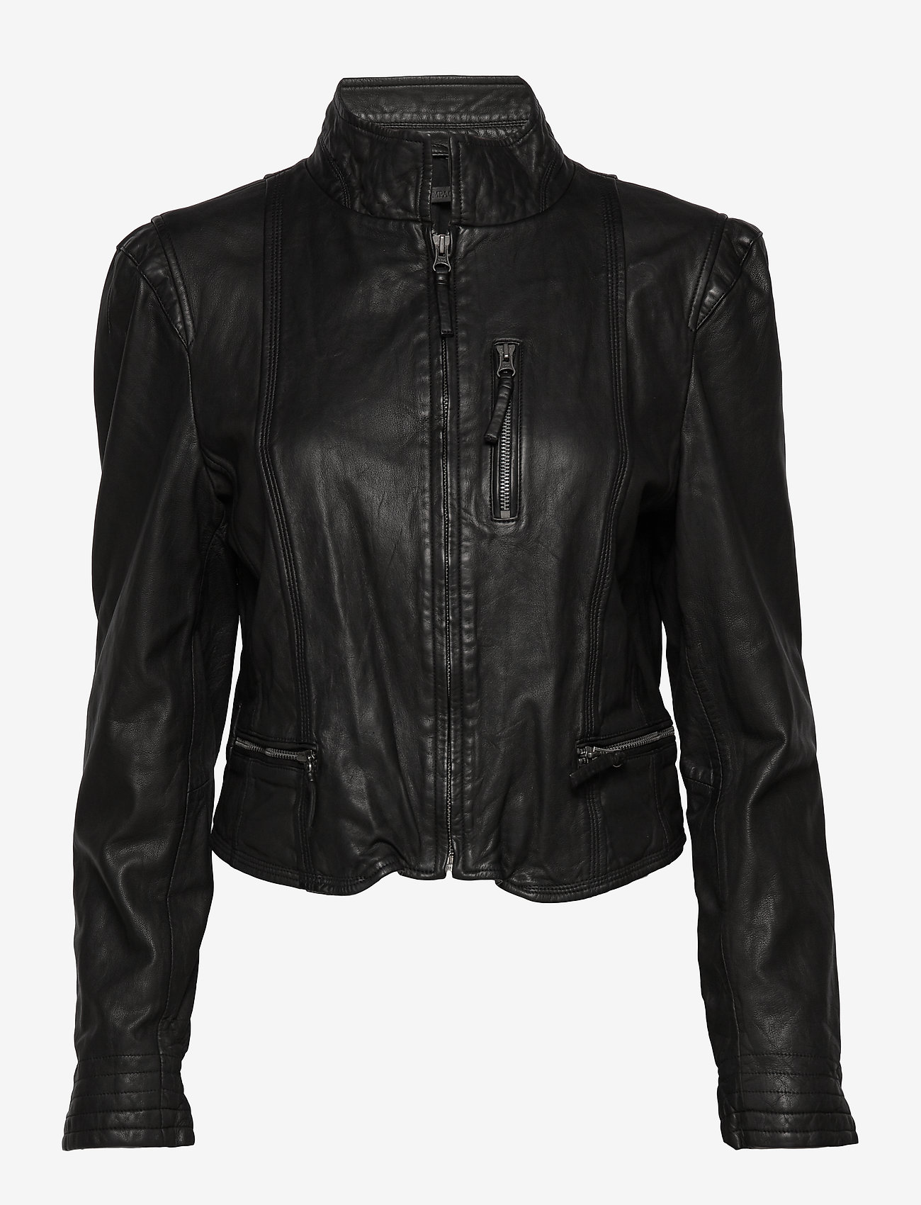 MDK / Munderingskompagniet - Rucy leather jacket (black) - nahkatakit - black - 1