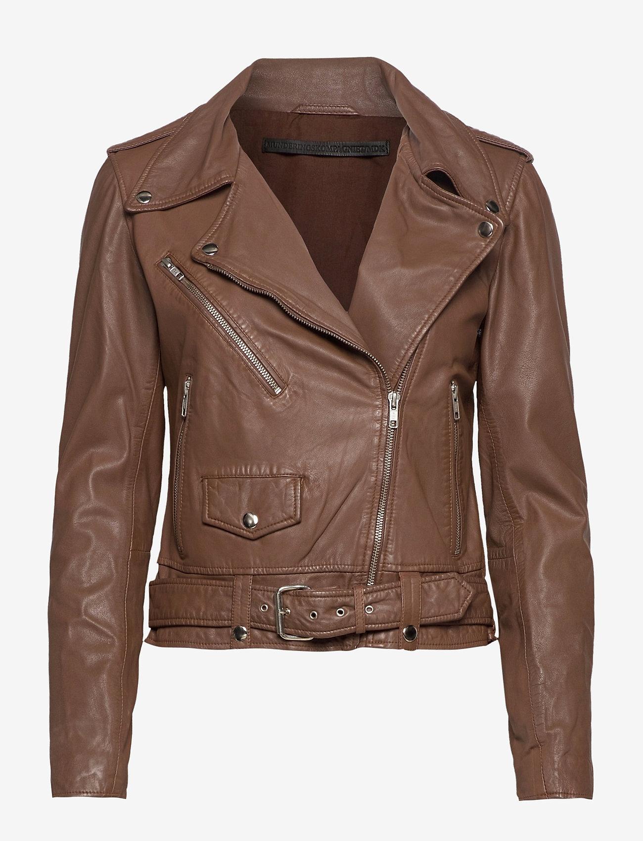 MDK / Munderingskompagniet - Berlin leather jacket - skinnjackor - monks robe - 0