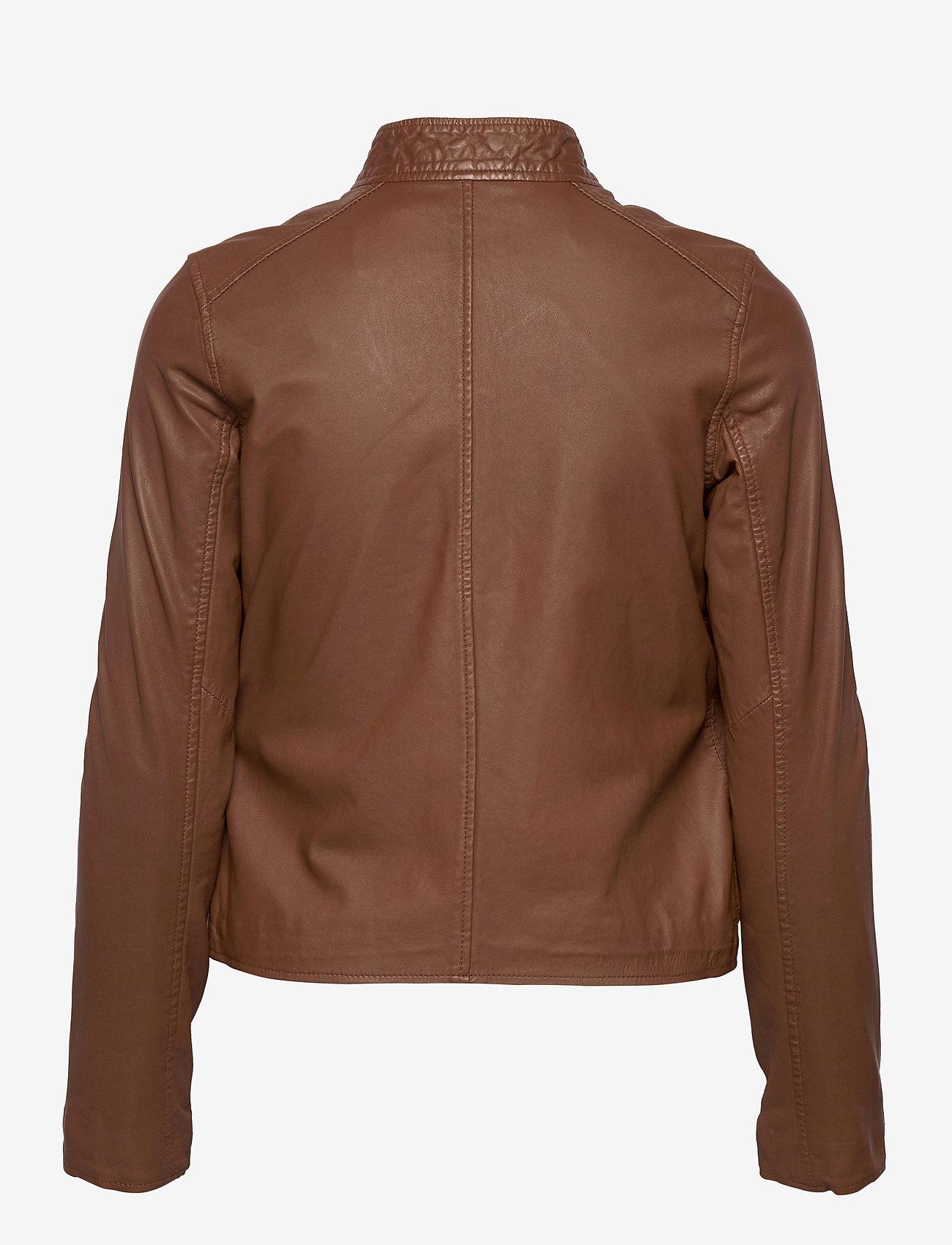 MDK / Munderingskompagniet - Carli thin leather jacket - skinnjackor - monks robe - 1