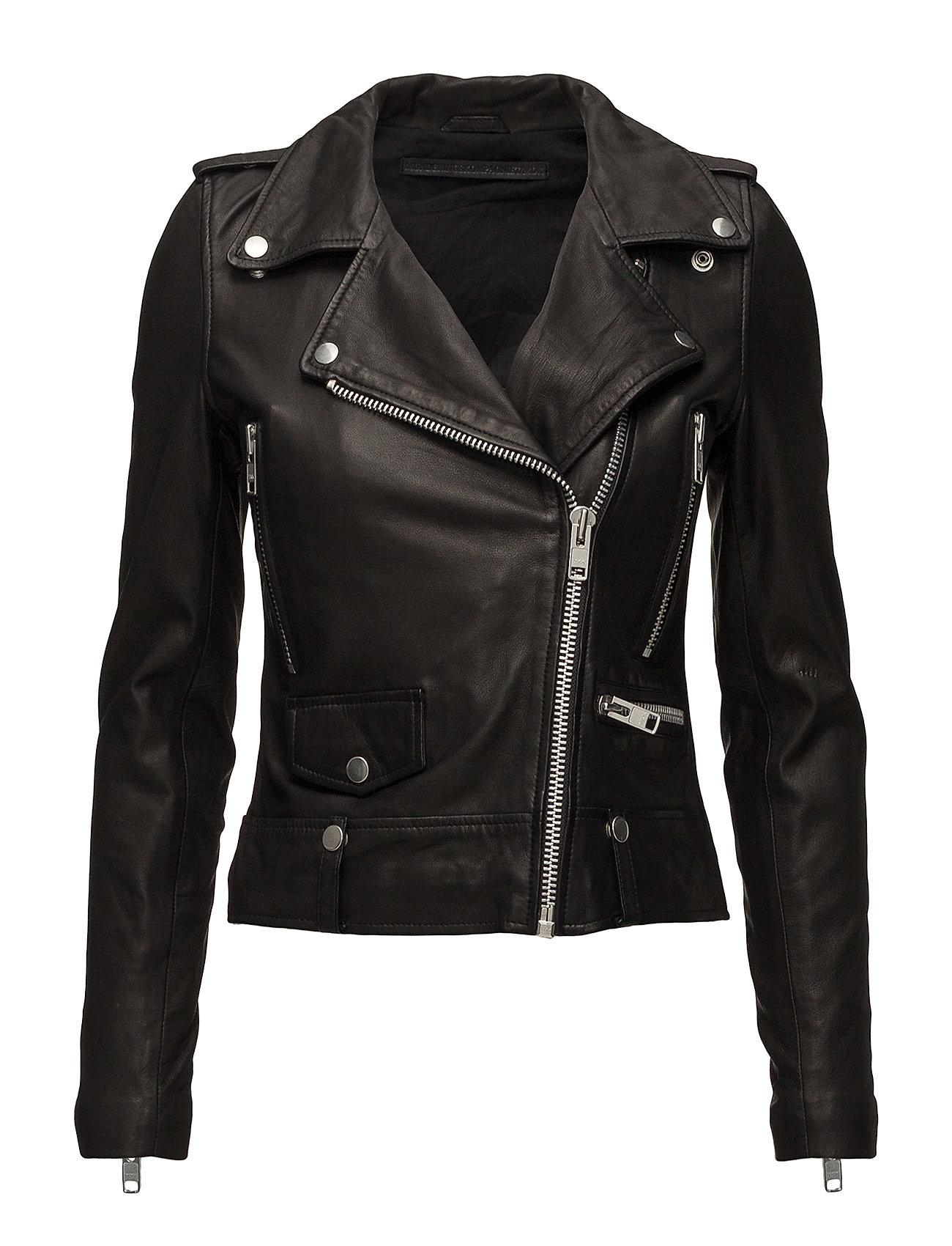 MDK / Munderingskompagniet Seattle Leather Jacket - BLACK