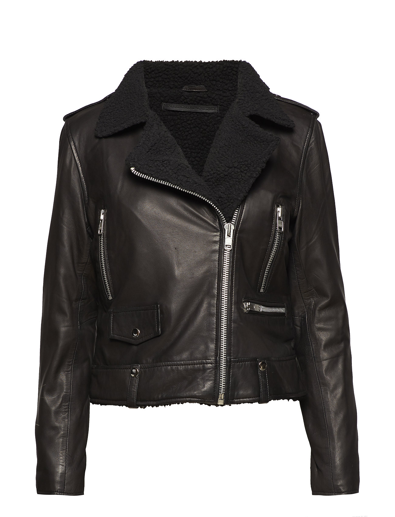 MDK / Munderingskompagniet Seattle fur leather jacket (black)