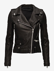 MDK / Munderingskompagniet - Seattle Leather Jacket - nahkatakit - black - 0