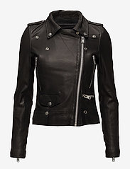 MDK / Munderingskompagniet - Seattle Leather Jacket - nahkatakit - black - 1