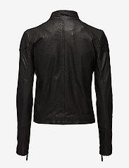 MDK / Munderingskompagniet - Kassandra Leather Jacket - Ādas virsjakas - black - 1