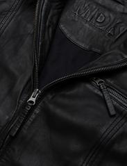 MDK / Munderingskompagniet - Karla Leather Jacket - skinnjackor - black - 1