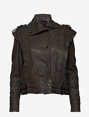 MDK / Munderingskompagniet - Enola leather jacket (bungee cord) - leather jackets - bungee cord - 1