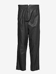 MDK / Munderingskompagniet - Iris leather pants - skinnbyxor - black - 0
