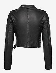MDK / Munderingskompagniet - Aia leather jacket - skinnjackor - black - 1