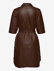 MDK / Munderingskompagniet - Clare thin leather dress - korta klänningar - monks robe - 1