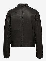 MDK / Munderingskompagniet - Carli thin leather jacket - skinnjackor - black - 2