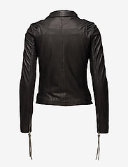 MDK / Munderingskompagniet - London thin leather jacket - skinnjackor - black - 2