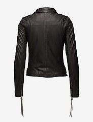 MDK / Munderingskompagniet - London thin leather jacket - skinnjakker - black - 2
