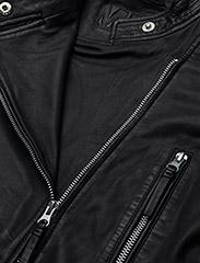 MDK / Munderingskompagniet - City biker leather jacket - skinnjackor - black - 3