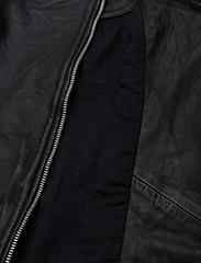 MDK / Munderingskompagniet - City biker leather jacket - skinnjackor - black - 5