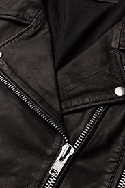 MDK / Munderingskompagniet - Seattle Leather Jacket - nahkatakit - black - 3
