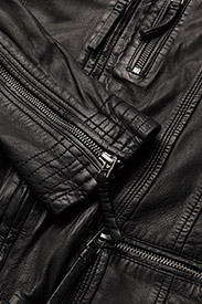 MDK / Munderingskompagniet - Rucy Leather Jacket - black - 4
