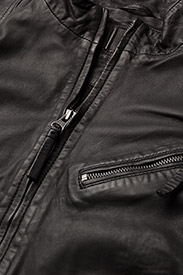 MDK / Munderingskompagniet - Kassandra Leather Jacket - Ādas virsjakas - black - 2