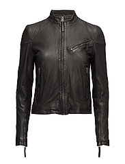 Kassandra Leather Jacket - BLACK