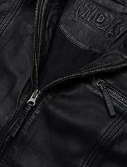 MDK / Munderingskompagniet - Karla Leather Jacket - skinnjackor - black - 2