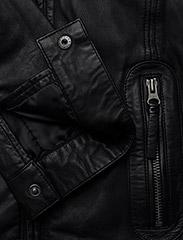MDK / Munderingskompagniet - Karla Leather Jacket - skinnjackor - black - 3