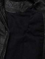 MDK / Munderingskompagniet - Karla Leather Jacket - skinnjackor - black - 4