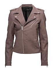 Bubble biker jacket (antler rose) - ANTLER ROSE