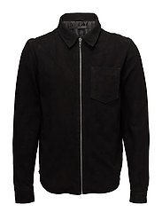 Berlin shirt jacket - BLACK