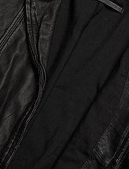 MDK / Munderingskompagniet - Rucy leather jacket (black) - nahkatakit - black - 5
