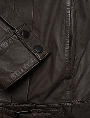 MDK / Munderingskompagniet - Enola leather jacket (bungee cord) - leather jackets - bungee cord - 4