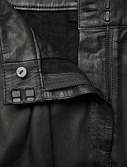 MDK / Munderingskompagniet - Iris leather pants - skinnbyxor - black - 3