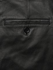 MDK / Munderingskompagniet - Iris leather pants - skinnbyxor - black - 4