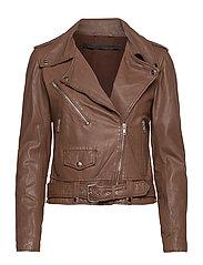 Berlin leather jacket - MONKS ROBE