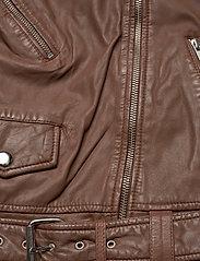 MDK / Munderingskompagniet - Berlin leather jacket - skinnjackor - monks robe - 4