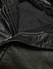 MDK / Munderingskompagniet - Stine hood leather jacket - skinnjackor - black - 2