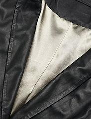 MDK / Munderingskompagniet - Coco thin leather blazer - vardagskavajer - black - 2