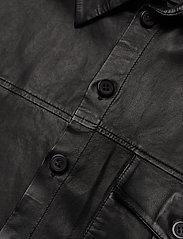 MDK / Munderingskompagniet - Chili thin leather dress - korta klänningar - black - 2