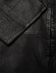 MDK / Munderingskompagniet - Chili thin leather dress - korta klänningar - black - 3