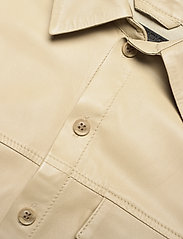MDK / Munderingskompagniet - Chili thin leather dress - korta klänningar - pale khaki - 2