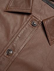 MDK / Munderingskompagniet - Clare thin leather dress - korta klänningar - monks robe - 2