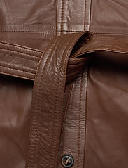 MDK / Munderingskompagniet - Clare thin leather dress - korta klänningar - monks robe - 3
