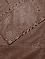 MDK / Munderingskompagniet - Clare thin leather dress - korta klänningar - monks robe - 4