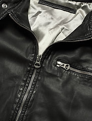 MDK / Munderingskompagniet - Carli thin leather jacket - skinnjackor - black - 3