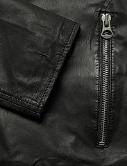 MDK / Munderingskompagniet - Carli thin leather jacket - skinnjackor - black - 4
