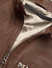 MDK / Munderingskompagniet - Carli thin leather jacket - skinnjackor - monks robe - 2