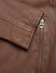 MDK / Munderingskompagniet - Carli thin leather jacket - skinnjackor - monks robe - 3
