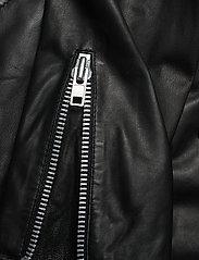 MDK / Munderingskompagniet - Bronco thin leather jacket - skinnjackor - black - 4